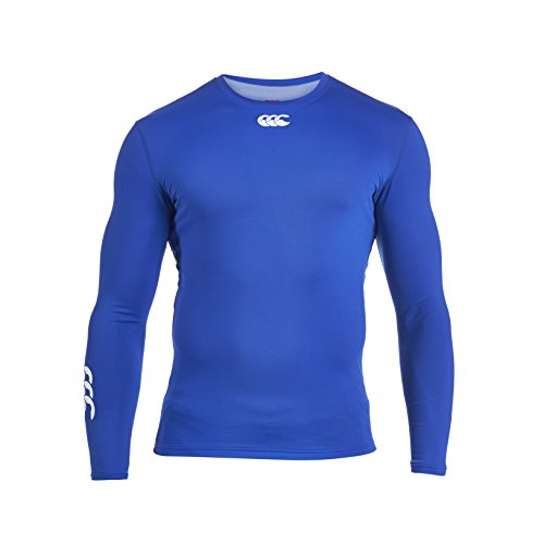 Canterbury Cold manica lunga Baselayer top Olympian Blue