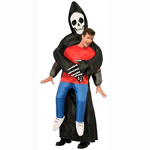 Fett Halloween Kostüm (HAPPY & HOME Aufblasbare Halloween Party Anzug Erwachsene aufblasbare Geist Cosplay)