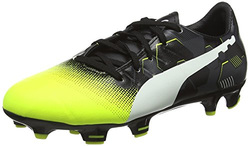 Puma EP3.3GrphFGJrF6, Scarpe da Calcio Unisex - Bambini, Giallo (Yellow 01), 37 EU