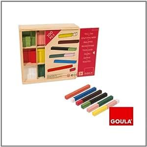 Goula - 51106 - Réglettes - Boîte Collectivités - Jeu Éducatif et Scientifique - 300 Pièces