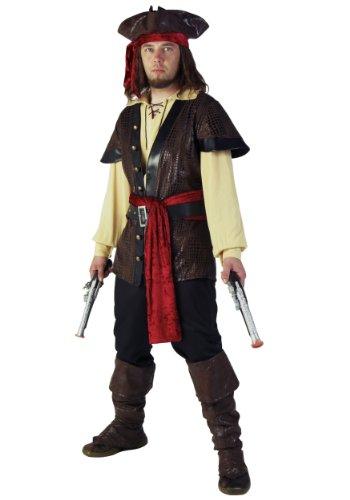 shoperama 10-teiliges DELUXE Herrenkostüm - Pirat 6 - Gr. M