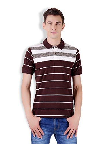 Tapasya Brown Polo T-Shirt