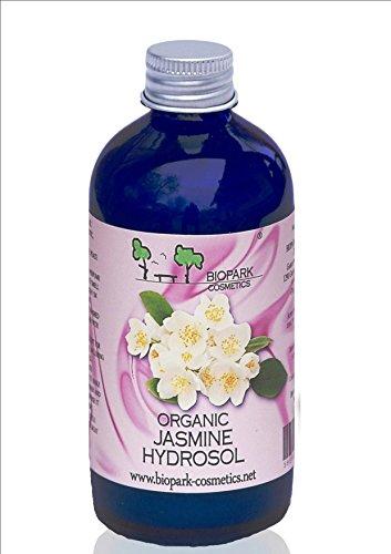 Estee Reine Feuchtigkeitscreme (BIOPARK Jasmin Bio-Hydrosol - Sanftes Naturparfum für Körper und Haare- 100 ml)