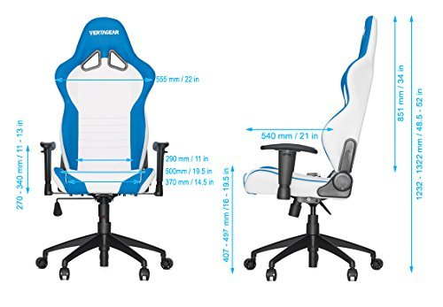 VERTAGEAR Racing Series sl2000 Gaming Stuhl - 9