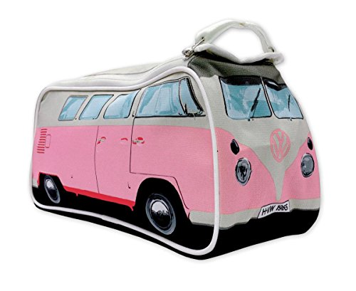 Brisa VW Collection Kulturbeutel Bulli T1 im 3D ca 31 x 14 13 cm PINK