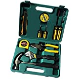 Chandi Mart LECHG LC8012 Portable Metal Car Fix Tools Kit (Big Size ELT-266894, Yellow) -12 Pieces
