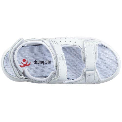 Chung Shi Anti Step Sandale SAN DIEGO 9200, Unisex - Erwachsene Sandalen/Outdoor-Sandalen Weiß