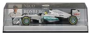 Minichamps - 410120008 - Véhicule Miniature - Modèle À L'Échelle - Mercedes Gp Amg Petronas F1 - 2012 - Echelle 1/43