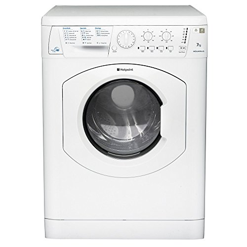 41EjzgpunBL - BEST BUY #1 Hotpoint WDL756P Washer Dryer Aquarius 1600 Spin 7Kg Polar Reviews uk