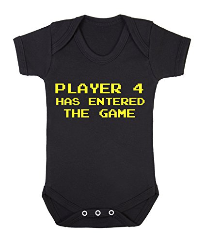 player-4-has-entered-the-game-funny-babygrow-onesie-0-3-months