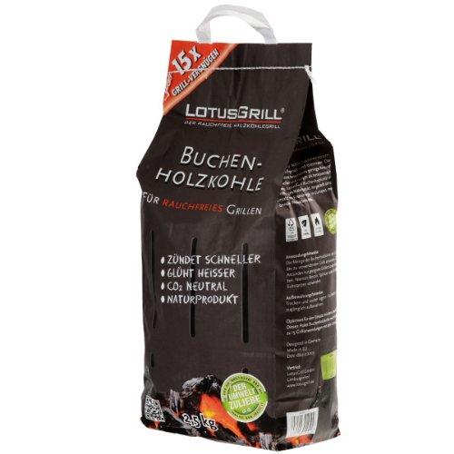 lotusgrill-lk-2500-charbon-de-bois-de-htre-25-kg
