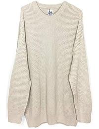 96552c27 Zara Men's Oversized Sweater 3597/400 Beige