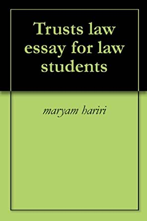 Law student essay