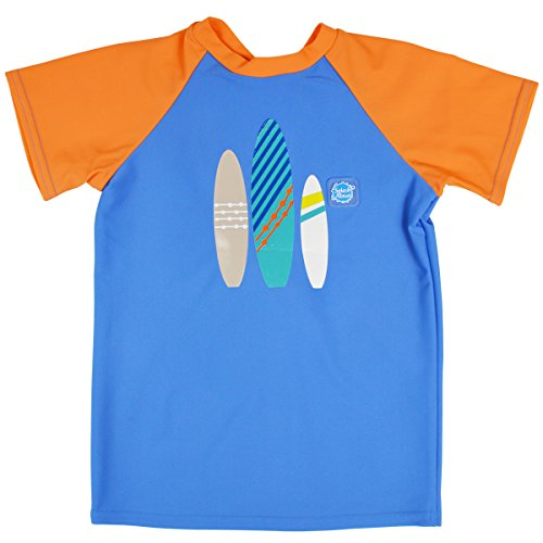 Splash About Baby Uv Schutz Rash Top Kurz Arm Surfs Up, 6-12 Monate - 7 Top-up