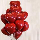 Balloonistics Latex Balloon, 50 Piece, Red