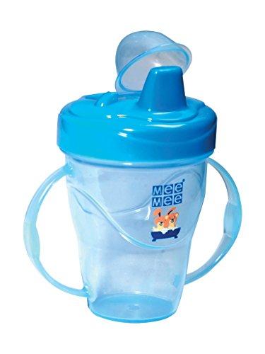 Mee-Mee-Twin-Handle-Non-Spill-Feeding-Cup-Dark-Blue