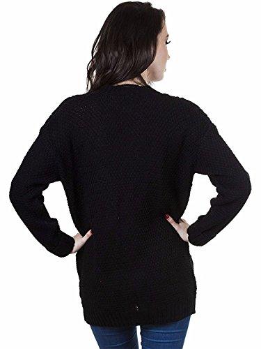 MUGHNIO - Gilet - Femme Noir noir Noir