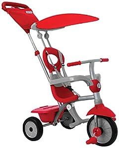 SMARTRIKE 618-0011Zip Plus-Estable 3en 1Touch Steering Triciclo como Estructura de Metal