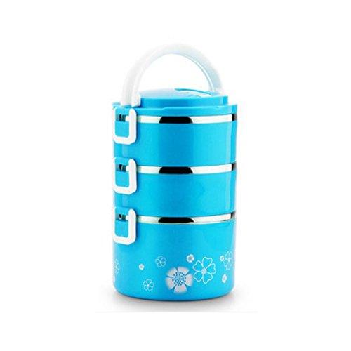Liu Yu · da cucina, casa, picnic Home multi–Storey stainless steel lunch box grande–Capacità isolamento isolante pranzo scatole di inviare borse Posate da pasto C2 B2
