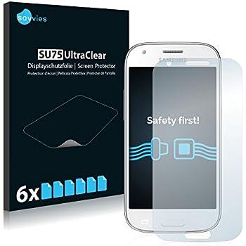 6x Savvies Film Protection pour Samsung Galaxy Ace 4 SM-G357 (3G) Protection écran Film Protecteur Transparent