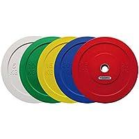 AFW 105174-Disco di Gomma Bumper Colore: Nero 25 kg Taglia: M