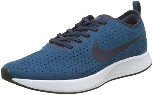promo code 86cd7 480af Nike Dualtone Racer PRM, Zapatillas de Deporte para Hombre, (Blue  Force Obsidian