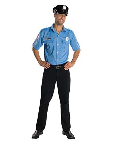 Horror-Shop US Cop Polizeikostüm XL