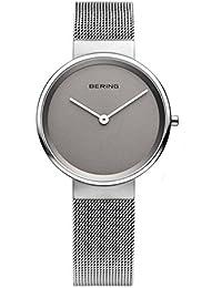 Bering Time Damen-Armbanduhr XS Analog Quarz Edelstahl 14531-077