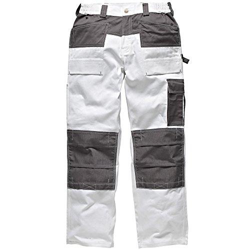 Dickies Pantalons de travail Blanc (Blanc/Gris)