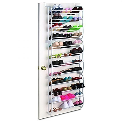 Door Shoe Rack Organizador de Zapatos para 36 Pares de Zapatos