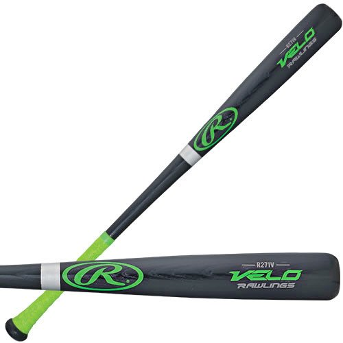 Rawlings Velo Esche Holz 3, Baseballschläger, herren, schwarz, 32 inch/29 oz (Baseball-roller-tasche)