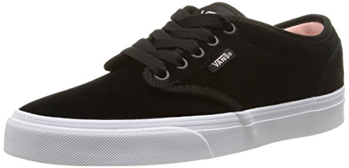 Vans W Atwood Weather Suede, Baskets Basses Femme Noir (Weather Suede/Black/English Rose)