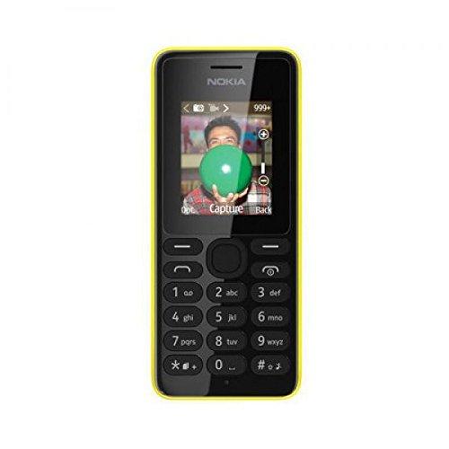 Nokia 108 Dual-SIM gelb - offen für alle Netze