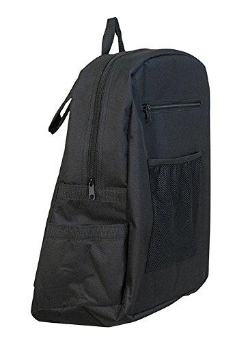 Aidapt VA136SS - Mochila para cadeiras de rodas e carrinhos elétricos, cor preta