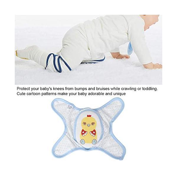 Almohadilla para la rodilla del bebé, almohadilla ajustable para la rodilla del bebé que se arrastra Cojín protector… 3
