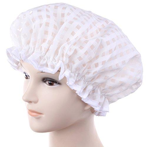 Bonnet de douche étanche avec bords élastiques