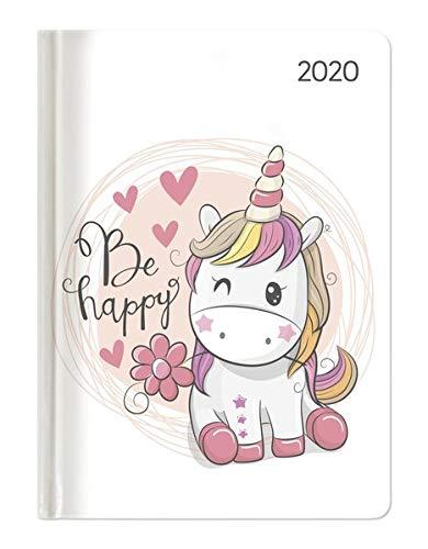 Ladytimer Unicorn 2020 - Einhorn - Taschenkalender A6 (11 x 15) - Weekly - 192 Seiten - Notizbuch -...