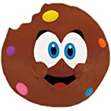 ToySource Chipper The Cookie Plush Collectible, Dark Brown, 17.5""