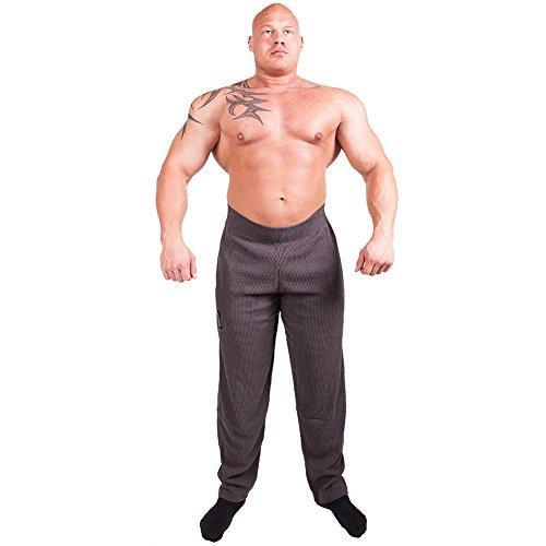 C.P.Sports Gym-Hose, Bodypant, Bodybuilding Hose, Fitnesshose S10 - Farbe: dunkelgrau Gr.S