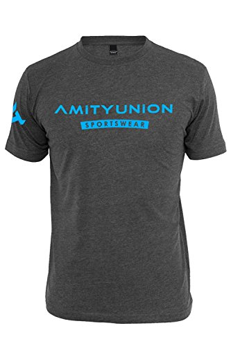 amityunion-fitness-t-shirt-grau-blau-bodybuilding-gym-sportswear-modernes-design-druck-s-xxl-m