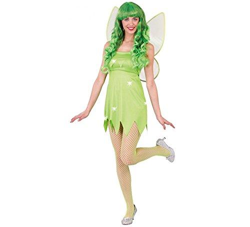 Kostüm Fee Frau - Größe M - 38/40 - Fiesta (Disney Tinkerbell Kostüm Für Erwachsene)