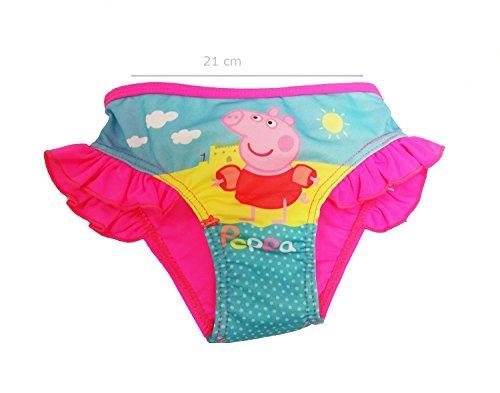 Peppa pig -  pantaloncini  - ragazza rosa 3 anni