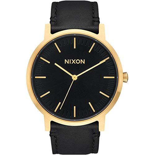 Nixon Reloj Analógico para Unisex de Cuarzo con Correa en Cuero A1058