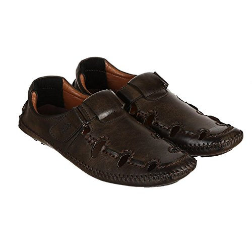 GGs Casual Loafers Sandal For Men's (size-10,Brown)