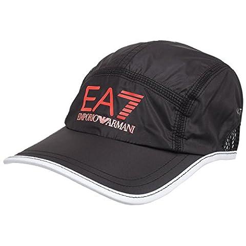 Casquette Ea7 - Ea7 - Five panel noir cap -