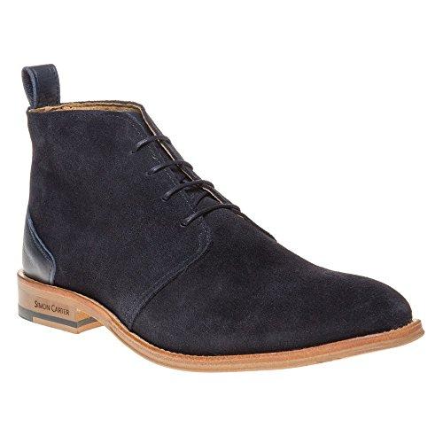 Simon Carter Byrd Homme Boots Bleu Bleu