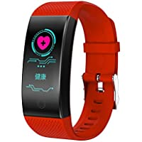 YIGIAO Pulsera Inteligente frecuencia cardíaca, tensiómetro de la presión Arterial, rastreador de Actividad,