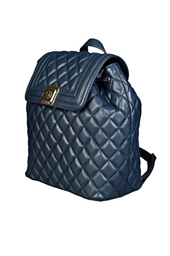 Moschino, Borsa A Mano Da Donna Blu Blu Taglia Unica Blu