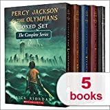 Percy Jackson & The Olympians Boxed Set The Complete Series 1-5: The Last Olympian, The Battle of the Labyrinth, The Titan's Curse, The Sea of Monsters, The Lightning Thief (Percy Jackson and the Olympians)
