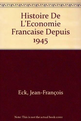 Histoire de l'économie française d...